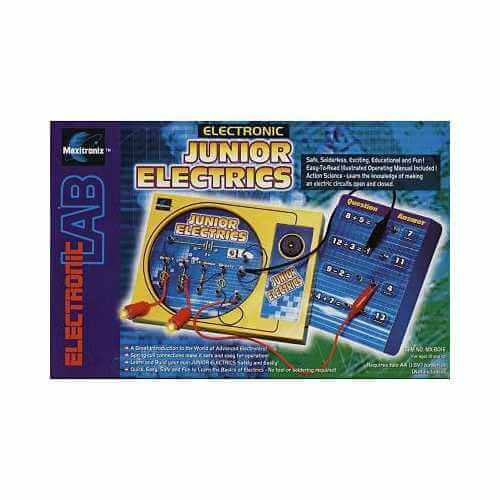 Junior Electrics Electronic Project Lab Kit (MX-801E)