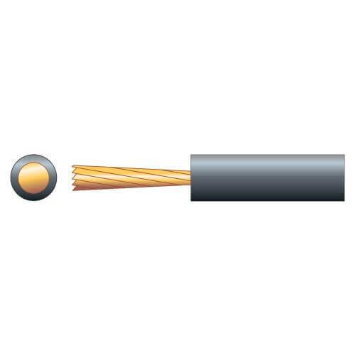 Loop Cable, Pure Copper, 15A, Black, 100m Reel