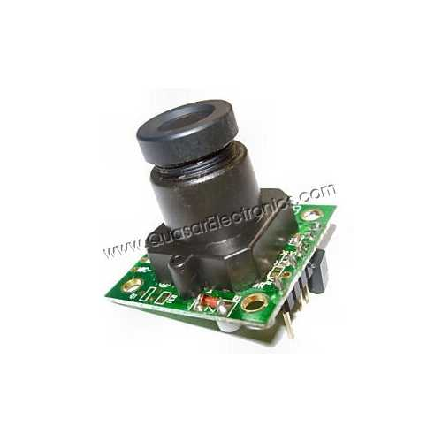1/3 Inch Monochrome Camera Module - CCIR or PAL