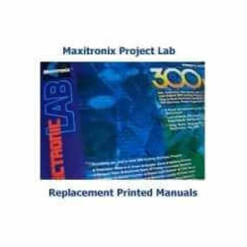 Maxitronix / Elenco Electronic Lab Replacement Printed Manuals