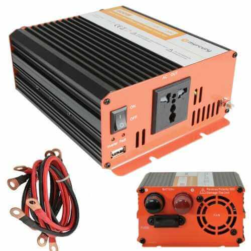SSI006UK - Power Inverter, 1000W Soft Start 12Vdc to 230Vac
