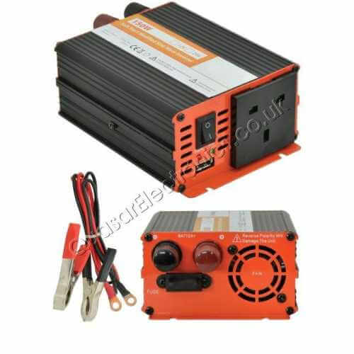 SSI000UK - Power Inverter, 150W Soft Start 12Vdc to 230Vac