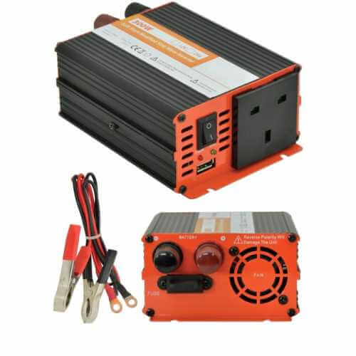 SSI002UK - Power Inverter, 300W Soft Start 12Vdc to 230Vac