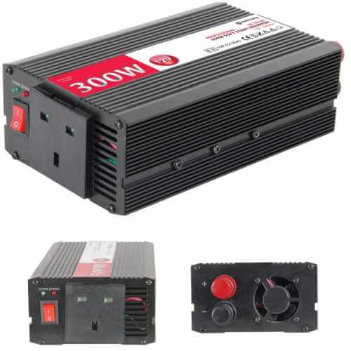 SSI662UK - Power Inverter, 300W Soft Start 12Vdc to 240Vac