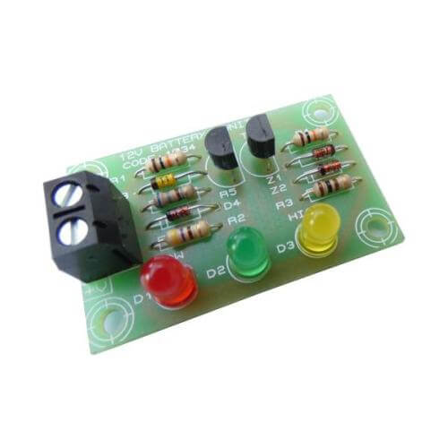 12V Car Battery Voltage Monitor Kit