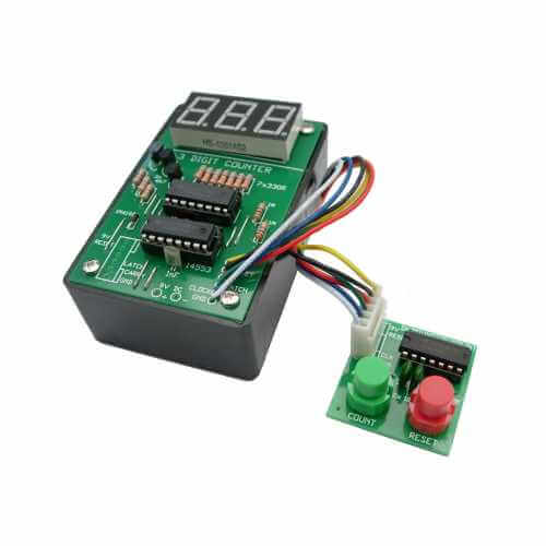 LED LCD Event Counter Board Electronic Project Kits Modules - Quasar