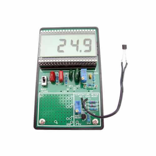 3002BKT - LCD Digital Temperature Meter Kit