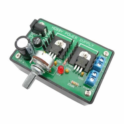 AS3004BKT - 5Vdc and 5-33Vdc Variable Regulated Power Supply Kit