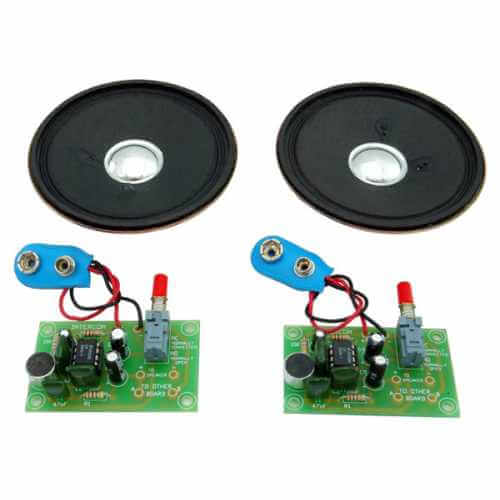 Two Station Intercom / Hard Wired Bug Kit