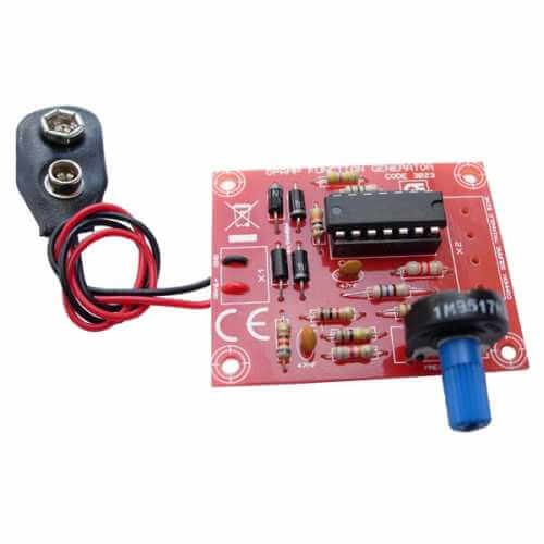 AS3023KT - LM348 Opamp AF Function Generator Kit