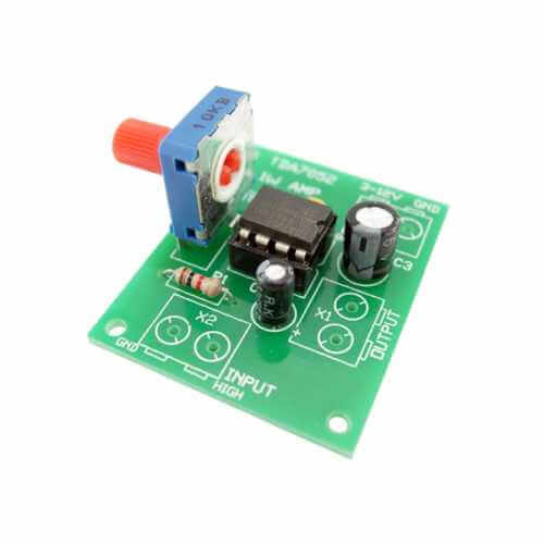 1W BTL Mono Audio Amplifier (TDA7052)