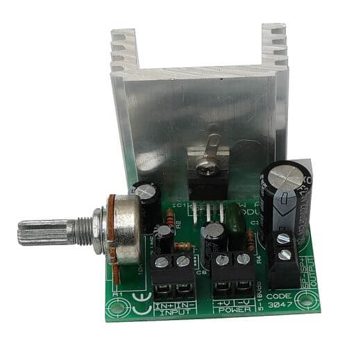8W Mono Audio Power Amplifier (TDA2003)