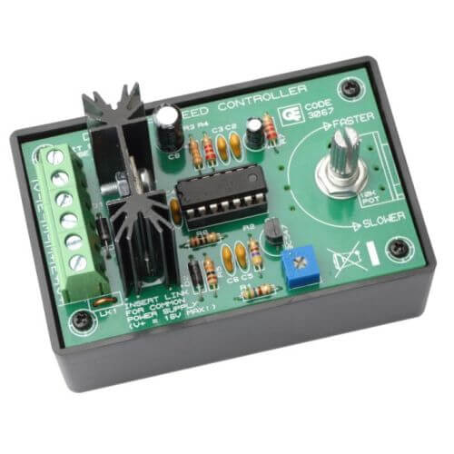 AS3067KT - DC Motor Speed Controller, 4 - 70V, 7.5A