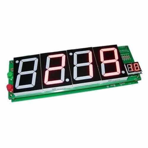 Giant LED Clock (12/24 Hour)