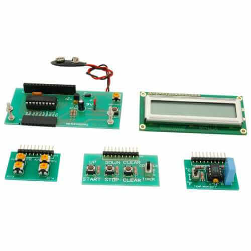 AS3075KT - PIC Microcontroller Trainer Kit (with 5 Functions)