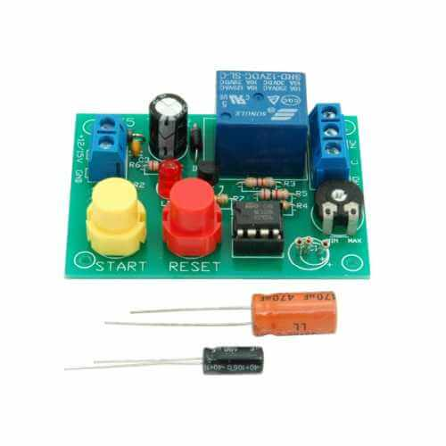Button Activated Delay Timer with Reset