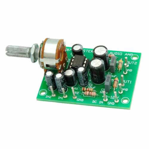 AS3087KT - 1W + 1W Stereo Amplifier (TDA2822M)