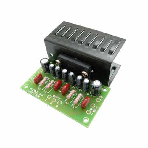 3W Stereo Amplifier Kit with Heatsink (ROHM BA5406)