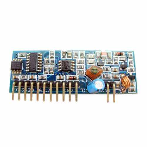 4-Channel 434MHz RF Receiver Module 3302D4-15(2A1)