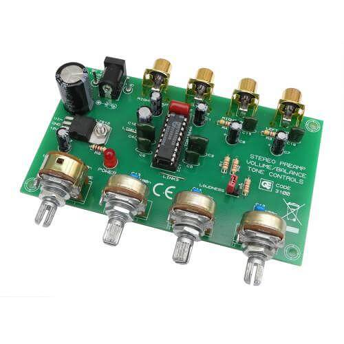 AS3100KT - Stereo Preamplifier with Tone Controls (TDA1524A)