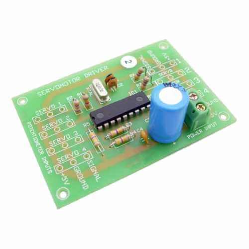 AS3102KT - PIC Servo Motor Driver Electronic Kit