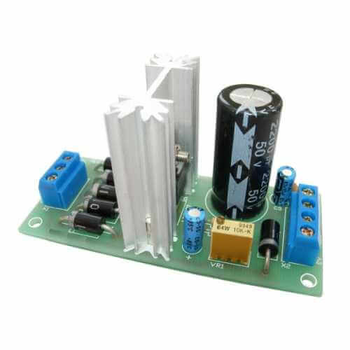 Negative Adjustable Power Supply