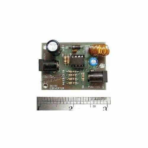AS3135KT - DC Voltage Step-Up Converter Kit (12Vdc to 16.5Vdc)