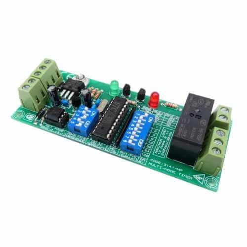 AS3141-HPKT - Multi-Mode Delay Timer, 13A Relay, Isolated Input