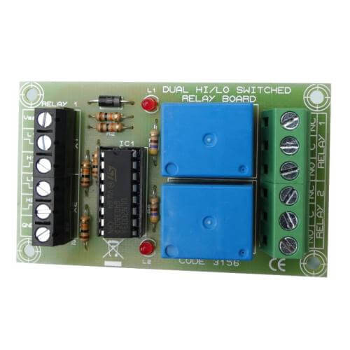 Dual Hi/Lo Switched Relay Board