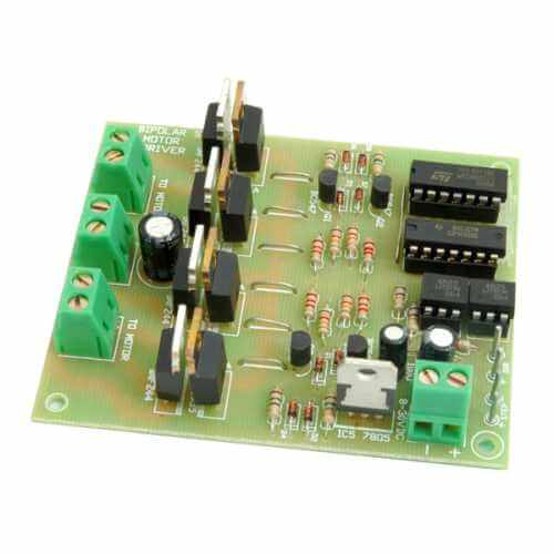 AS3158KT - Computer/Logic Controlled Bipolar Stepper Motor Driver, 5 - 50V, 6A