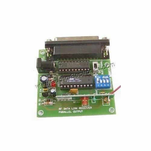 Parallel Output RF Data Link Receiver