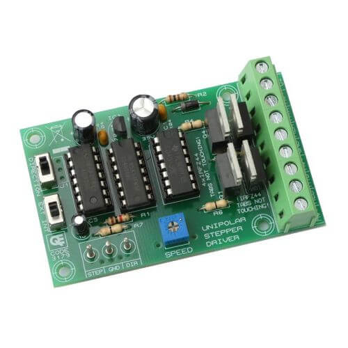 AS3179KT - Standalone / PC Unipolar Stepper Motor Driver