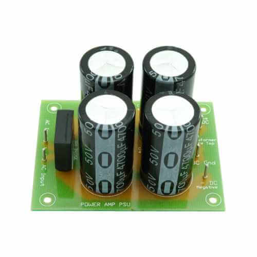 +/- 45Vdc, 5A Dual Polarity Amplifier Power Supply