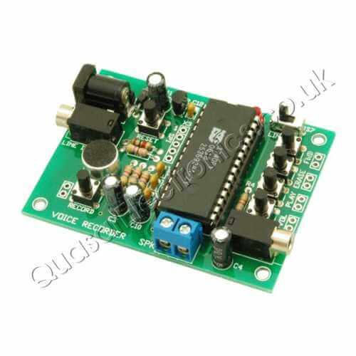 120 Second Message Recorder Board (ISD17120)