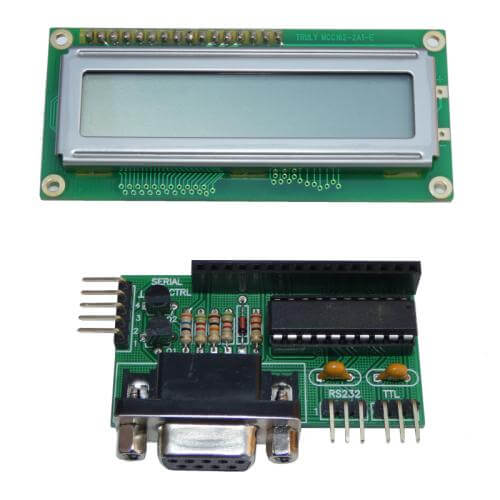 AS3192KT - Serial LCD Display Controller