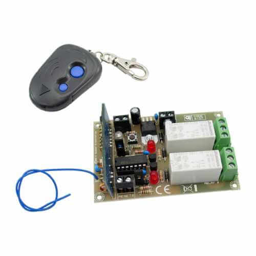 AS8157KT - 2-Channel High Current RF Remote Control Set