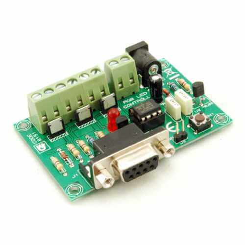 3-Channel High Current RGB LED Controller with Serial Interface