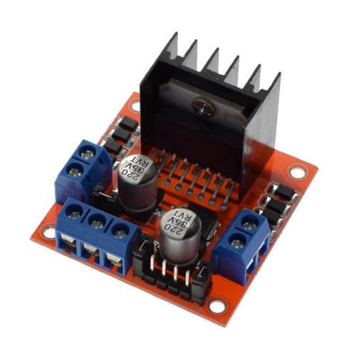 AS8801 - L298N Stepper Motor Driver Board Module for Arduino
