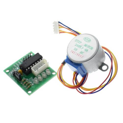 AS8803 - 5V 4-Phase Stepper Motor + ULN2003 Driver Board Module Set