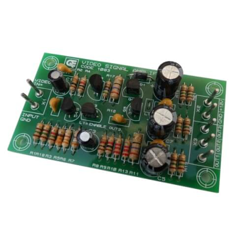 3-Output Video Signal Amplifier