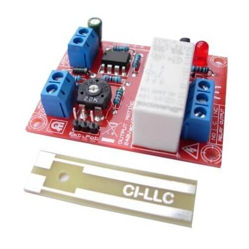 12Vdc Liquid Level Detector Relay Module (Low Profile)