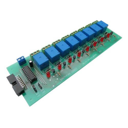 ASSC21KT - 8-Channel SBC Binary Logic Relay Board (8 Relays)