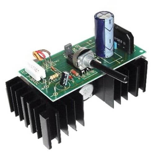 Stabilised Variable Power Supply Kit, 3-30Vdc, 2.5A