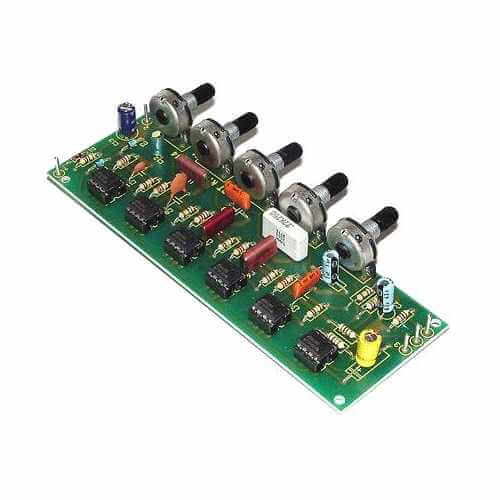 5-Band Graphic Equaliser Kit