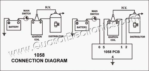 car transistor electronic ignition spark booster
