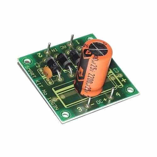 AS1063KT - 12Vdc, 2A Stabilised Power Supply Board