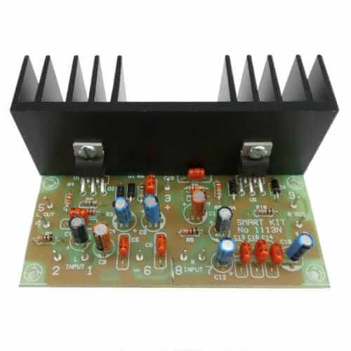 AS1113KT - 18W + 18W Stereo Hi-Fi Amplifier (TDA2030)