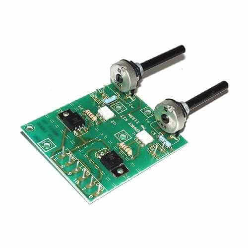 230Vac Mains Stereo Sound to Light Modulator Kit