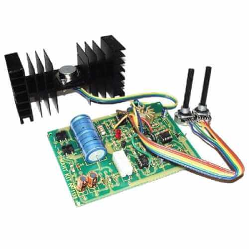 Stabilised Variable Power Supply Kit with Current Control, 0-30Vdc, 3A