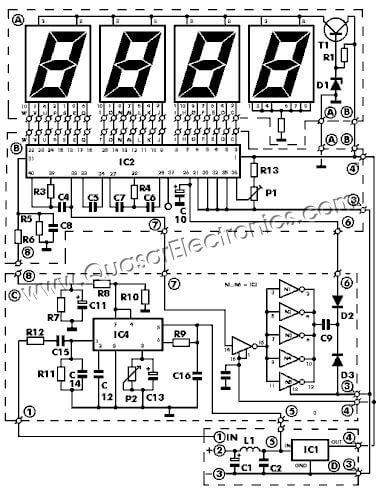 digital rpm rev counter for petrol engines